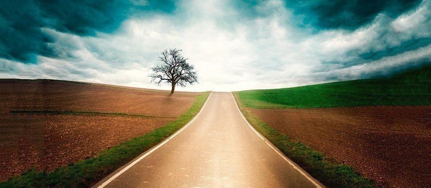 El camino de la justicia for Casa con un camino