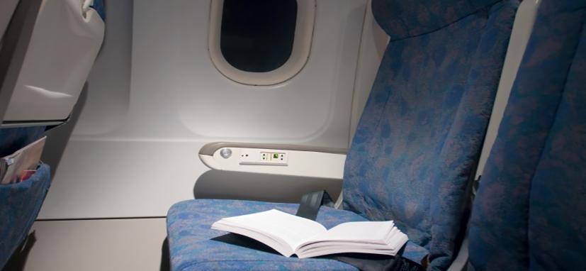A Palavra de Deus esquecida a bordo de um avião
