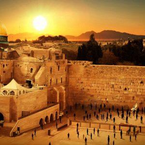 Vídeo mostra som de trombetas vindo do céu de Jerusalém