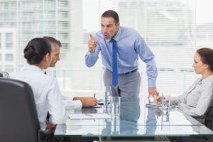 Seu chefe é mal-humorado?