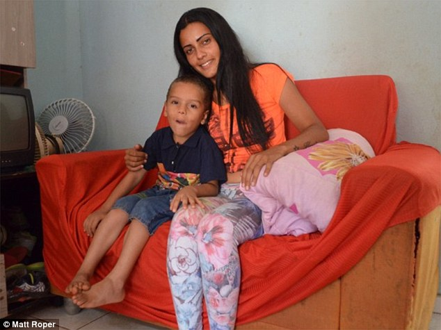 Brazilian mother who scavenged through bins to make ends meet