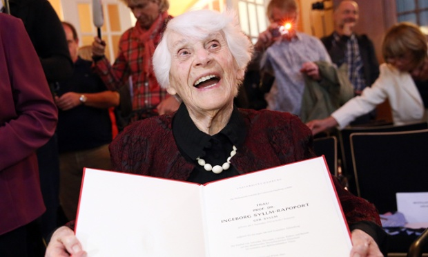 world's oldest doctoral student awarded her PhD – aged 102
