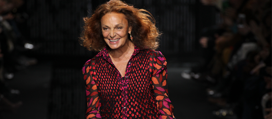 Fashion legend Diane Von Furstenberg shares her five life lessons for women