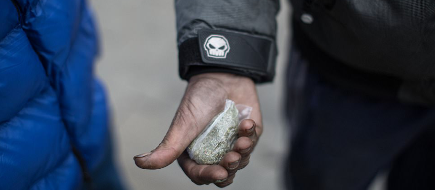 Spice, a drug which turns people into 'zombies', is becoming a national nightmare
