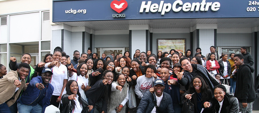 Gun and knife crime awareness event for South London youths