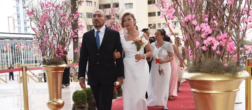 The UCKG celebrated 14,000 marriages within five continents