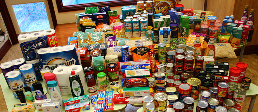 UCKG Hammersmith supports its local food bank