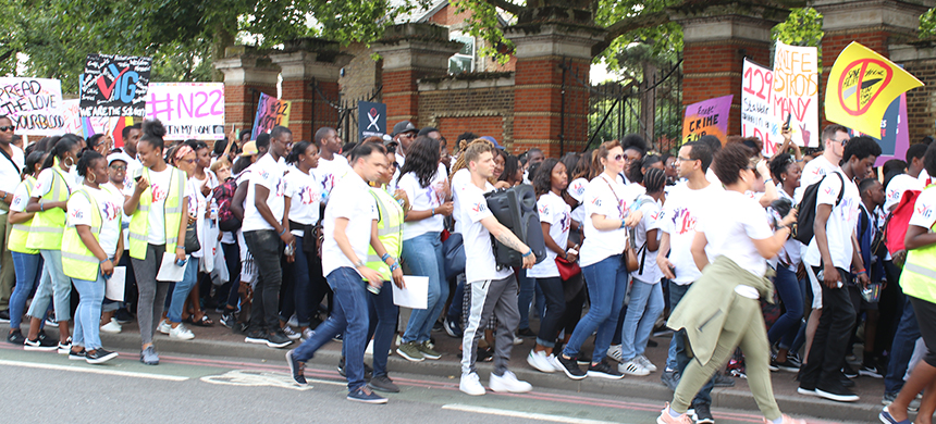London's youth stands up to knife crime