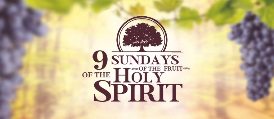 The 9 Sundays of the Fruit of the Holy Spirit