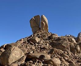 gushing rock
