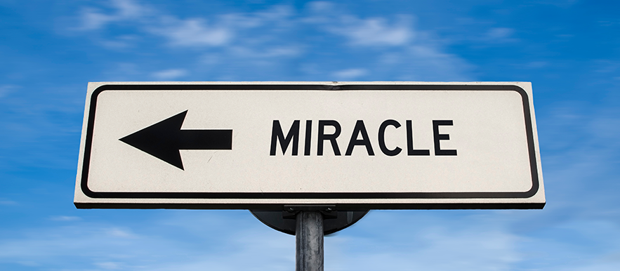 Are miracles a thing from the past?