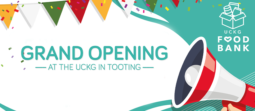 UCKG Food Bank Opening in Tooting