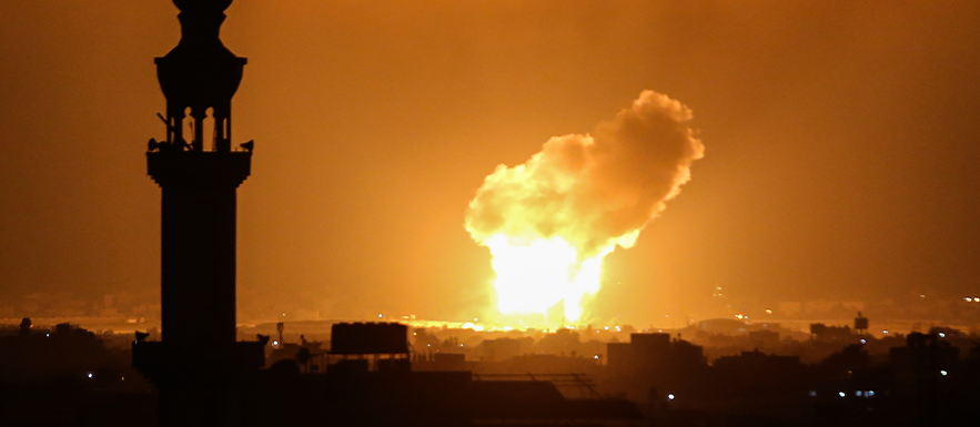 Islamic Palestinians fire more than 1,600 projectiles at Israel in 4 days