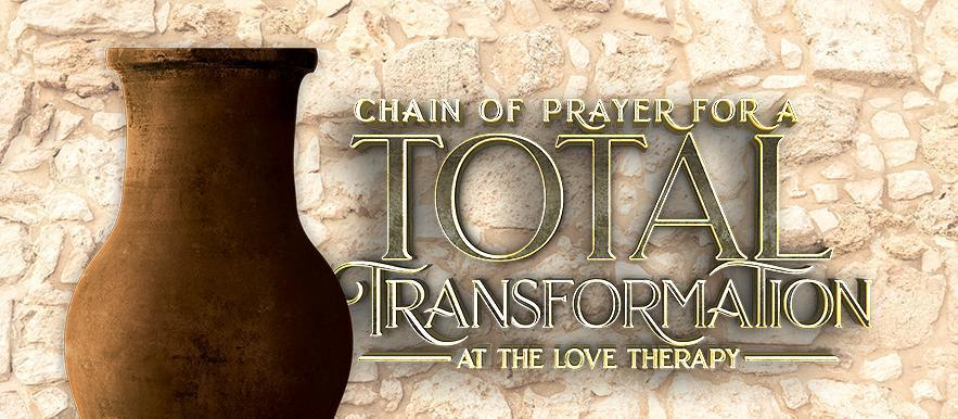 Chain of prayer inside