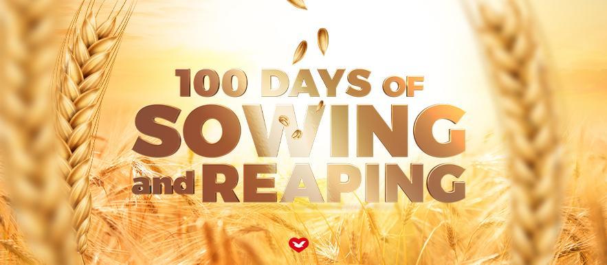 100 Days Web Banner
