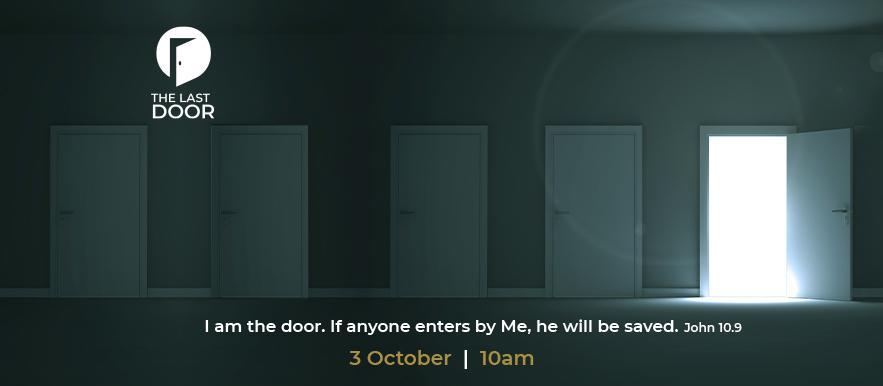 The Last Door Web Banner